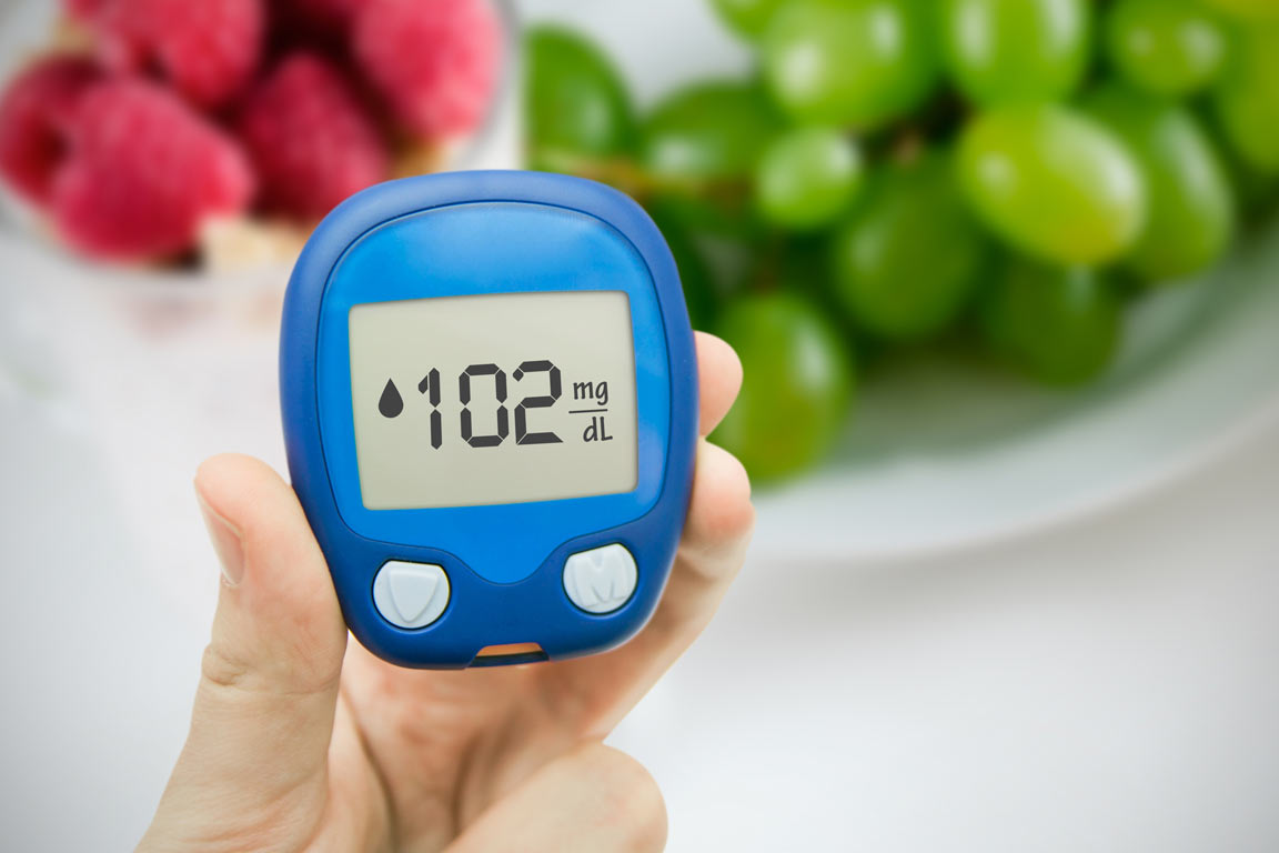 Research suggests fruits and herbs containing resveratrol can help maintain healthy blood glucose levels.